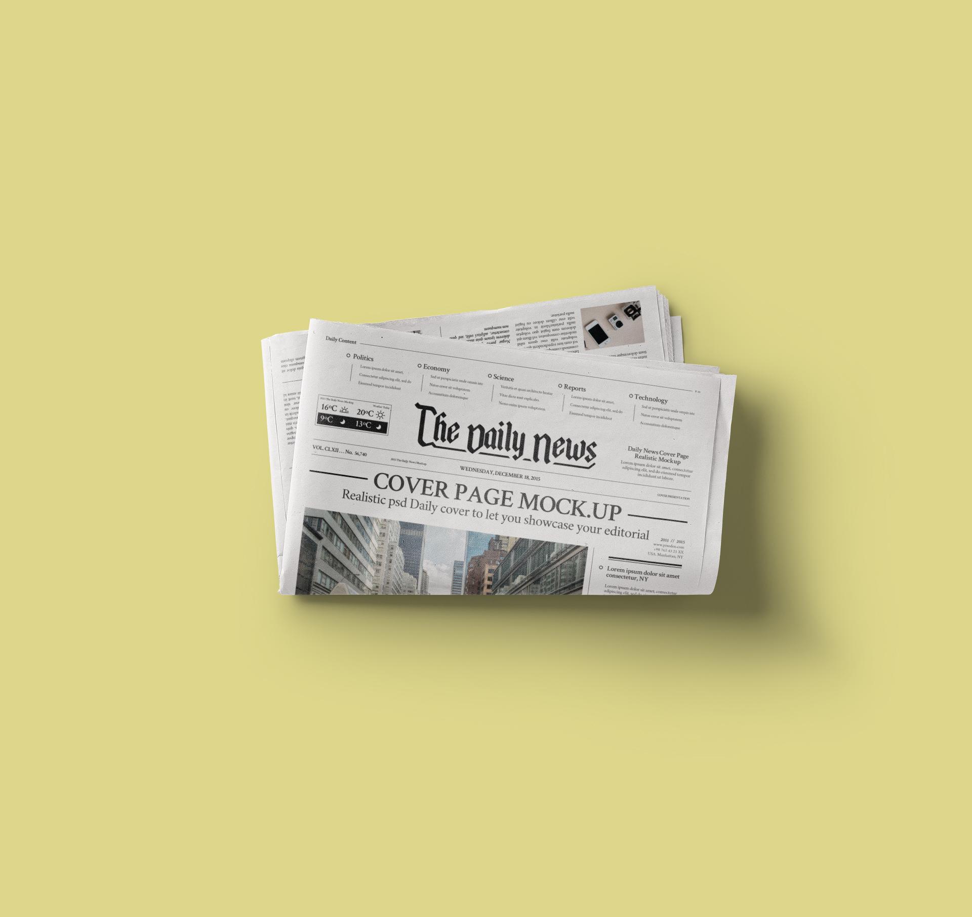 Daily-News-Folded-Mockup