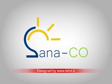 طراحی لوگو ساناصنعت